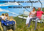COMBO TOUR 2-person-QUAD & Chairlift Ride + 360° views - departure from Ph'burg
