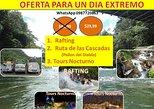 RAFTING, RUTA DE LAS CASCADAS , TOURS NOCTURNO POR 29,99 USD Por Persona
