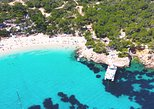 Cala Comte and Cala Bassa Beach Hopping Cruise, Paddle Surf-Snorkel-Drinks- FYB