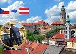 Private Transfer from Prague to Salzburg with a Stopover in Cesky Krumlov