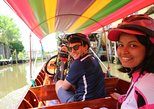 Bike to a Bangkok Floating Market with Canal Boat Ride
