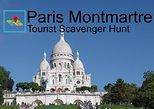 Paris Montmartre Tourist Scavenger Hunt