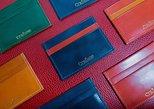 Experience leathercraft in Singapore Haji Lane : Cardholder