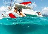 Catamaran Experience to Ile aux cerf: incl: Parasailing, Lunch, GRSE & Transfer