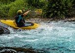 Kayak on Savinja river