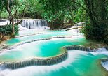1 DAY Mekong Cruise to Pak Ou Caves. Kuang Si Waterfalls . Local Villages