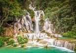 Private Luang Prabang City Tour & Joint in Kuang Si Waterfalls Tour