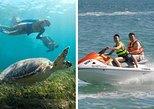 Couples Combo Tour Cancun - Sea Turtles, Reef, Shipwreck snorkeling & Jet Ski