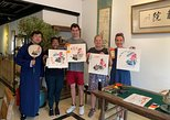 3-Hour Tradtional Ink and Brush Painting with Calligraphy Workshop in Beijing
