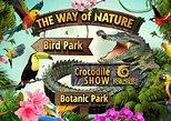 Crocodile show Porosus,Botanic Garden,Bird park