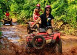 Atv's, Ziplines and Cenote swim experience from Cancun or Riviera Maya