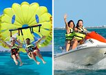 Cancun Seaside Parasailing + Jet Ski Combo Tour with transportation