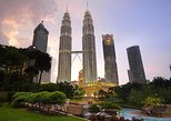 Petronas Twin Tower in the evening with local street tour