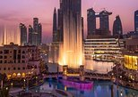 Dubai Fountain Show and Lake Ride or Board Walk Bridge