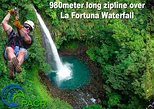 12 cable Zipline Canopy Tour Over Waterfalls!