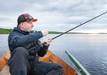 FISHING BY BOAT IN THE ARCTIC CIRCLE