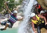Canyoning + Zipline Safari Combo Adventure