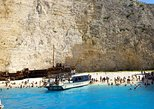 Trip to Shipwreck, Blue Caves and Xigia Beach