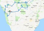 20 Days Namibia, Botswana and Victoria Falls Accommodated Adventure