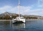 Salidas Grupales En Catamaran En Marbella. Avistamiento De Delfines. Marbella, ESPAÑA