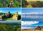Europe - Armenia: Tour to Tsaghkadzor, Kecharis monastery, Lake Sevan, Sevanavank monastery