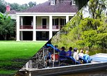 Destrehan Plantation and Small Airboat Combo Tour from New Orleans