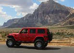 4-Hour Jeep Wrangler Rubicon Rental drive to Red Rock or Hoover Dam.