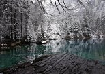 Blue Lake and Winter wonderland - Private day tour from Interlaken