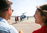 360 Open Top Luxury Minibus Tour, Helicopter flight & Sailing Trip - Small Group
