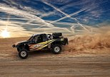 Desert Off-Road Racing On A Dirt Track in Las Vegas