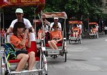 Explore Hanoi City with Cyclo- Walking Street Food Tour-Foot Massage ( 3 IN 1)