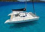 50' Private Sailing Catamaran. Luxury, Beach and Snorkel. Departs Margaritaville