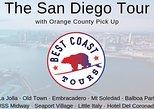 The San Diego Tour: La Jolla, Old Town, Gaslamp, Coronado -from Orange County