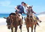 Cabo white sand horseback tour & private sunset dinner