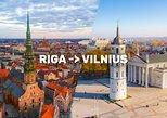 Riga–Vilnius One Way Sightseeing Tour Bus