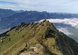 trail running to discover a magnificent summit accessible only by foot