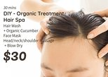 30mins - DIY Orangic Treatment Hair Spa