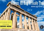 Athens All Day Private Tour With An Escort.