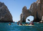 Mexico - Baja California Sur: Private Los Cabos Arch & Playa del Amor tour by Glass bottom kayak