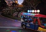 Lucky Tuk Tuk at Night - San Francisco Lights Tour