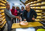 Alpine cheese tasting in a traditional Swiss farm