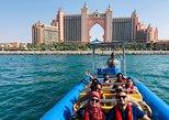 60min Dubai Speed Boat Tour: Burj Al Arab, Atlantis & Palm Jumeirah