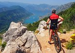 Biking downhill from Lovcen to Kotor and visit Njegos Mausoleum