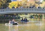 Central Park Date: Rudern im Central Park mit Ganztagesfahrradverleih