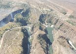 15 minutes scenic helicopter flight above the victoria falls