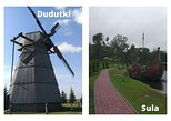 2 places in one tour, Dudutki and Sula. Private tour from Minsk or (MSQ)