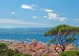 Ferry de ida y vuelta de Cannes a St Tropez y tour independiente. Cannes, FRANCIA