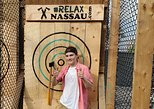 Caribbean - Bahamas: 60 minutes of Outdoor Axe Throwing with 2 types of axes