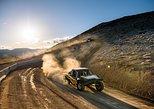 Desert Off-Road Racing On A Dirt Track in Las Vegas
