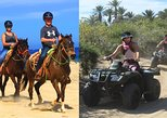 Mexico - Baja California Sur: 2-in-1 PROMO ATV & HORSEBACK RIDE. Desert and beach tour in Los Cabos